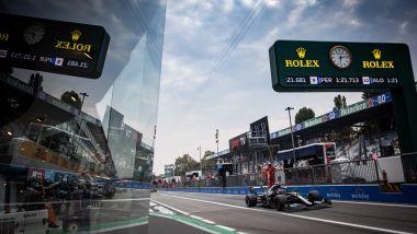 F1 GP Italia 2021, Monza: Valtteri Bottas (Mercedes AMG F1) scende in pista