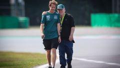 Vettel prende tempo sul rinnovo con Aston Martin