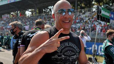 F1, GP Italia 2021: Vin Diesel aka Dominic Toretto