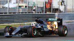 F1 GP Malesia, il ritiro di Lewis Hamilton nel 2016