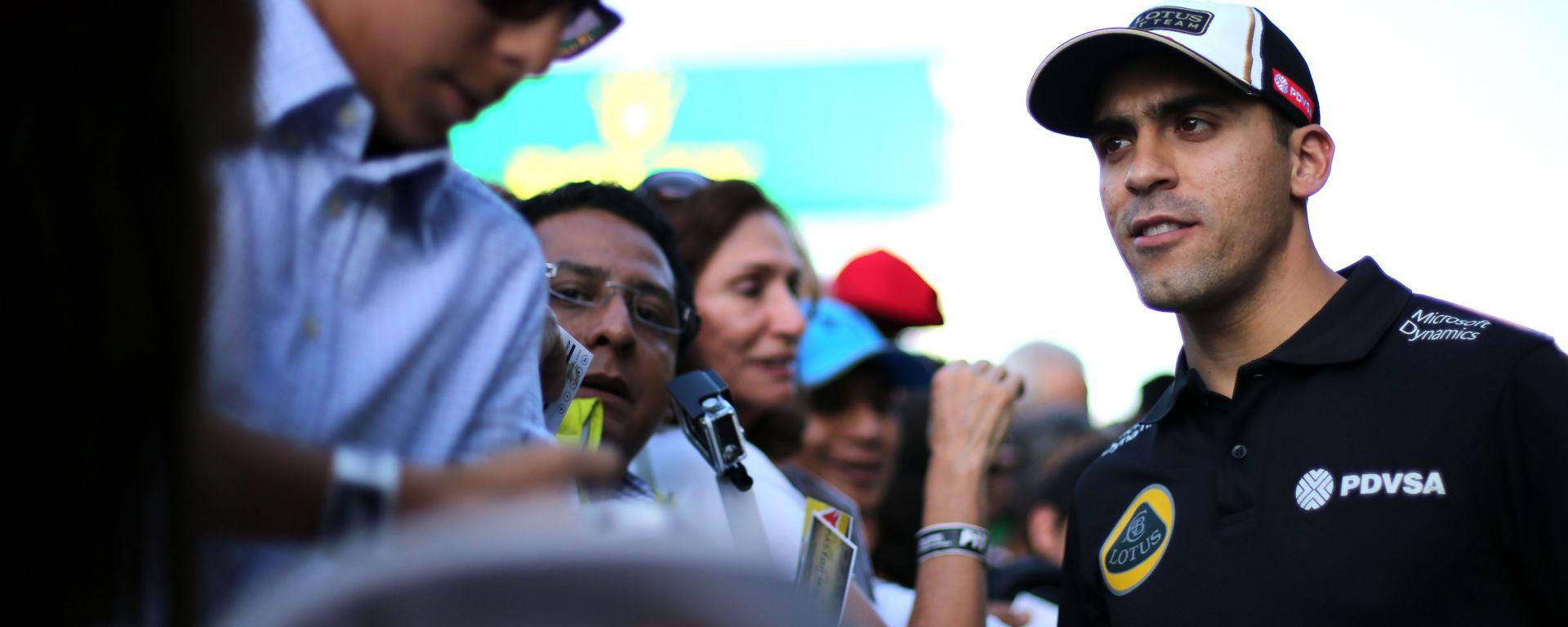 F1 GP Messico 2015, Città del Messico: Pastor Maldonado (Lotus)