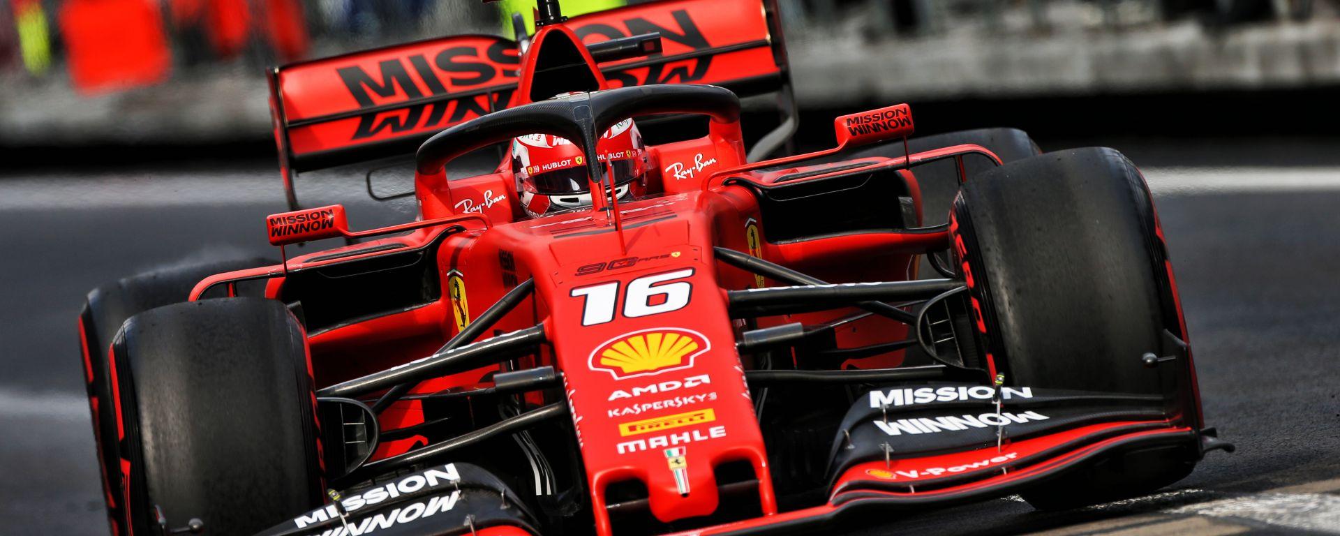 F1, GP Messico 2019: Charles Leclerc (Ferrari=