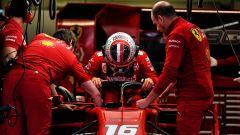F1 GP Messico 2019, Città del Messico: Charles Leclerc (Ferrari) scende dalla sua SF90