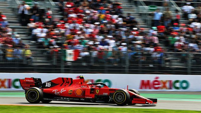 F1 GP Messico 2019, Città del Messico: Charles Leclerc (Ferrari)