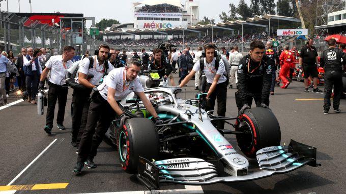 F1 GP Messico 2019, Città del Messico: Lewis Hamilton (Mercedes W09)