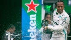 F1, Hamilton a caccia di tanti record ad Abu Dhabi