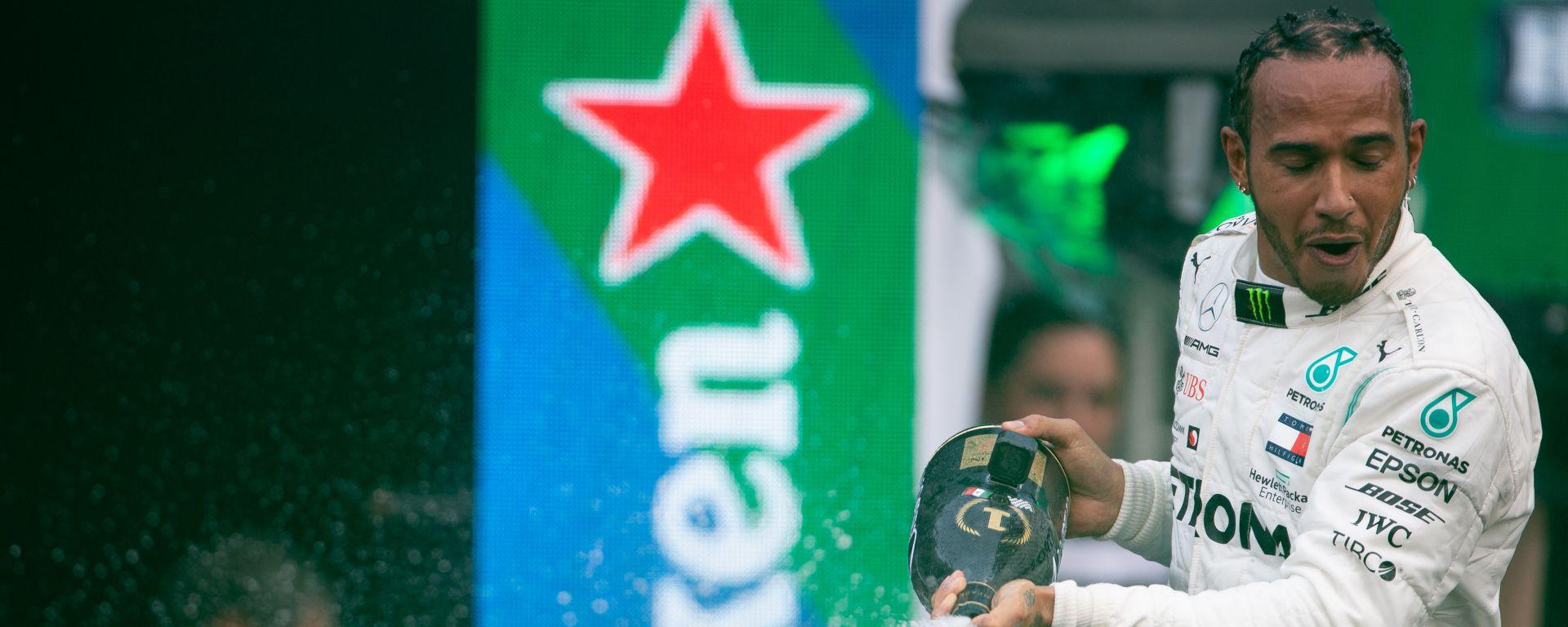 F1 GP Messico 2019, Città del Messico: Lewis Hamilton (Mercedes)
