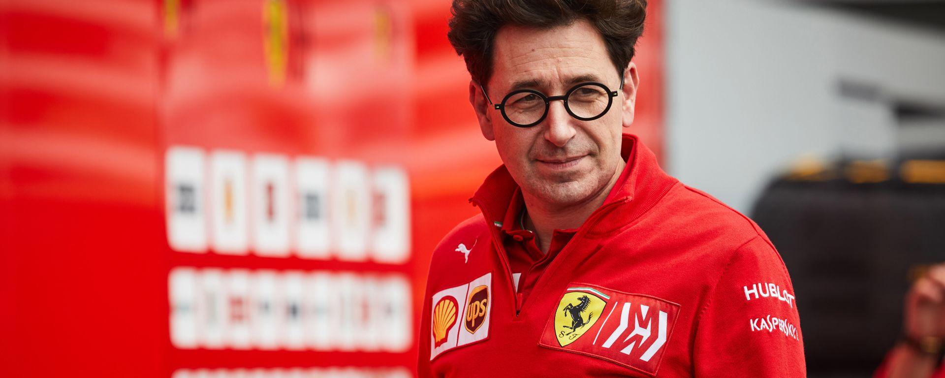 F1 GP Messico 2019, Città del Messico: Mattia Binotto, team principal della Ferrari