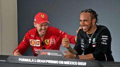 F1, Vettel incorona Hamilton tra i migliori di sempre