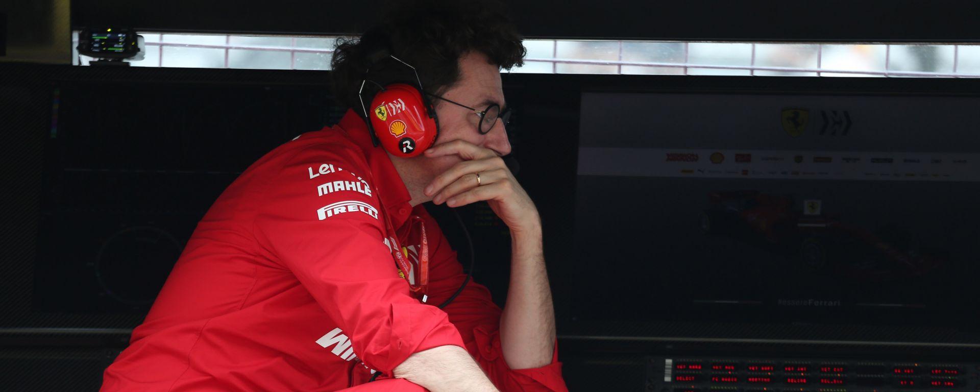 F1, GP Messico 2019: Mattia Binotto (Ferrari)