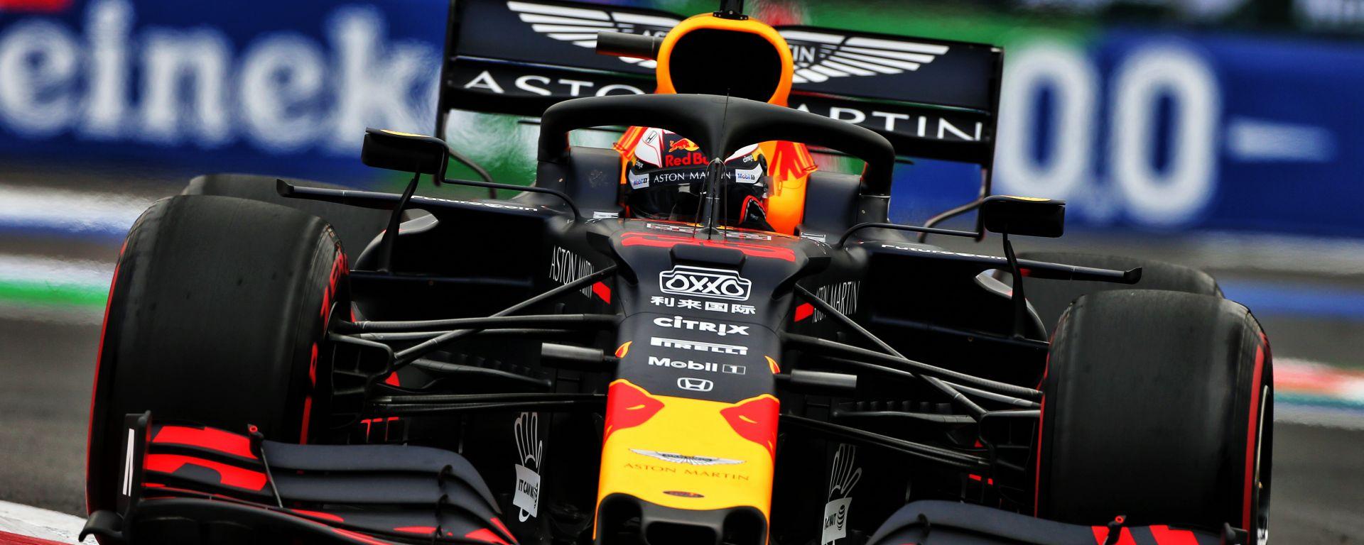 F1, GP Messico 2019: Max Verstappen (Red Bull)