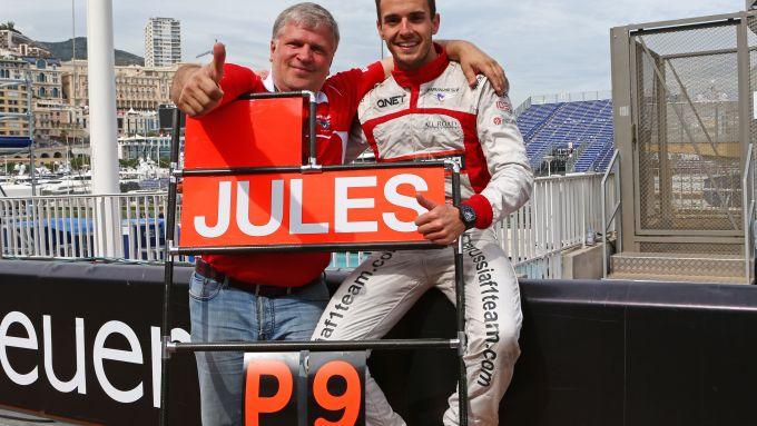 F1, GP Monaco 2014: Jules Bianchi festeggia il nono posto