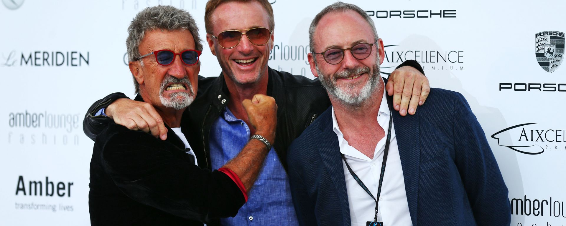 F1, GP Monaco 2016: Eddie Jordan, Eddie Irvine e Liam Cunningham