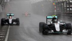 F1 GP Monaco 2016, Monte Carlo: Nico Rosberg e Lewis Hamilton (Mercedes)