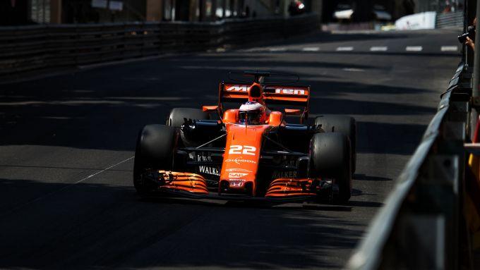 F1, GP Monaco 2017: Jenson Button (McLaren)