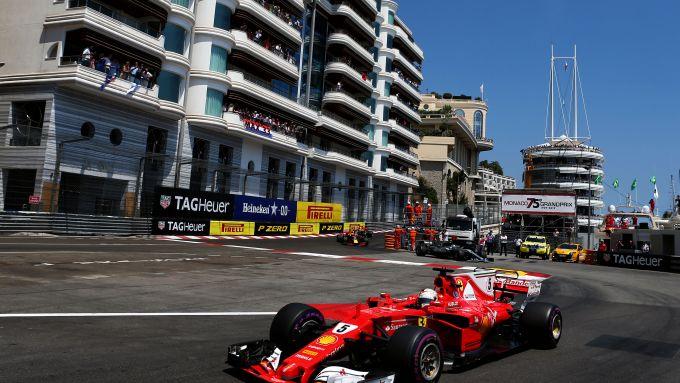 F1 GP Monaco 2017, Monte Carlo: Sebastian Vettel (Scuderia Ferrari)