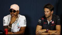 """Grosjean ritiene """"inaccettabile"""" lo stipendio di Hamilton"""