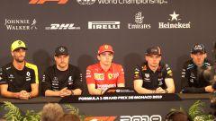 F1 GP Monaco 2019, la conferenza stampa del mercoledì