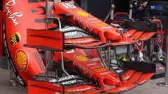F1 GP Monaco 2019, le ali anteriori della Ferrari SF90