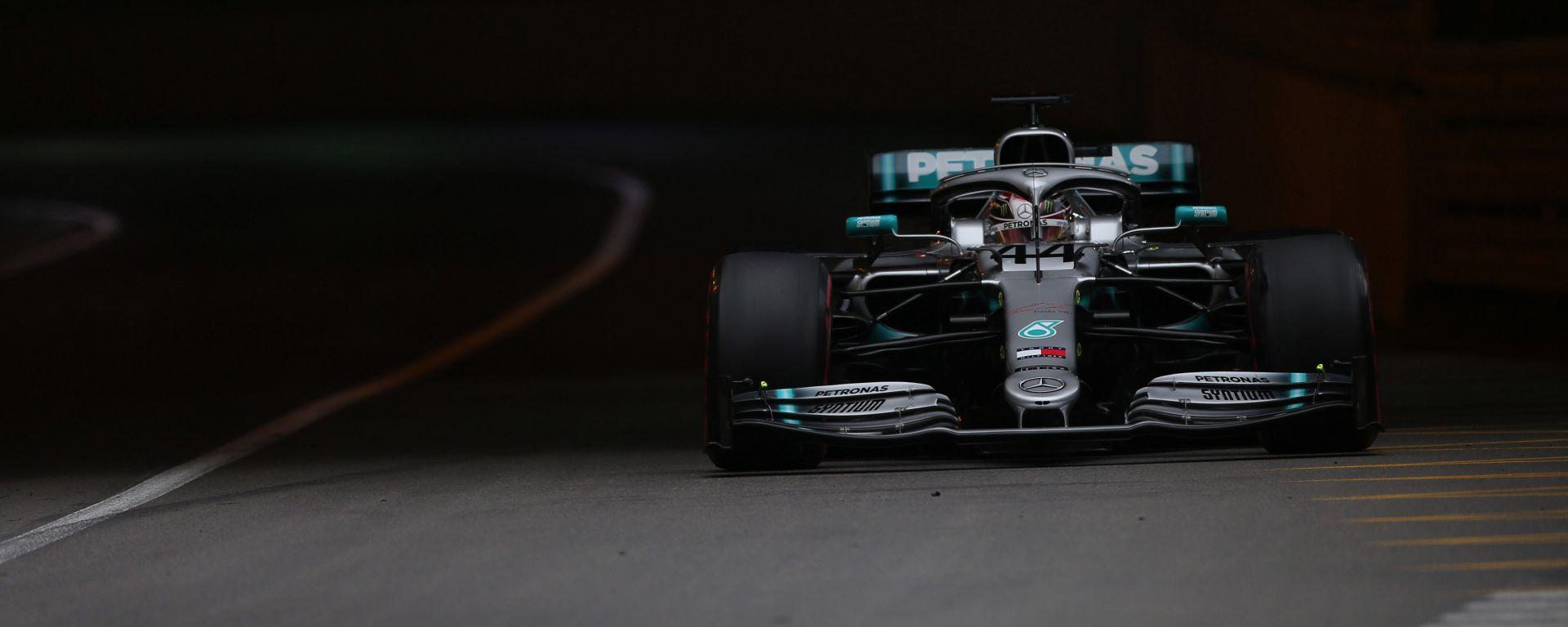 F1 GP Monaco 2019, Lewis Hamilton è il più veloce al termine delle prove libere 2