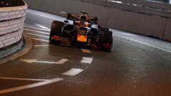 F1 GP Monaco 2019, Max Verstappen nel tunnel di Monte Carlo