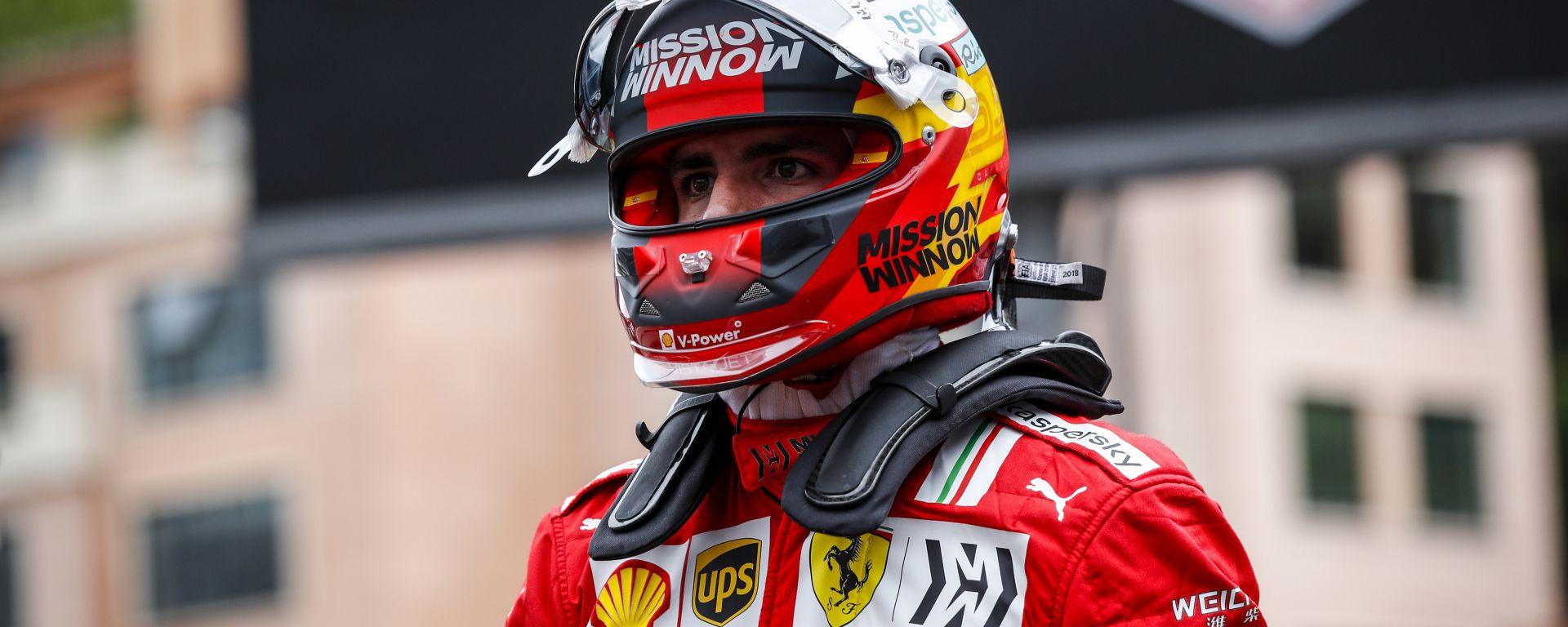 F1, GP Monaco 2021: Carlos Sainz al termine delle qualifiche