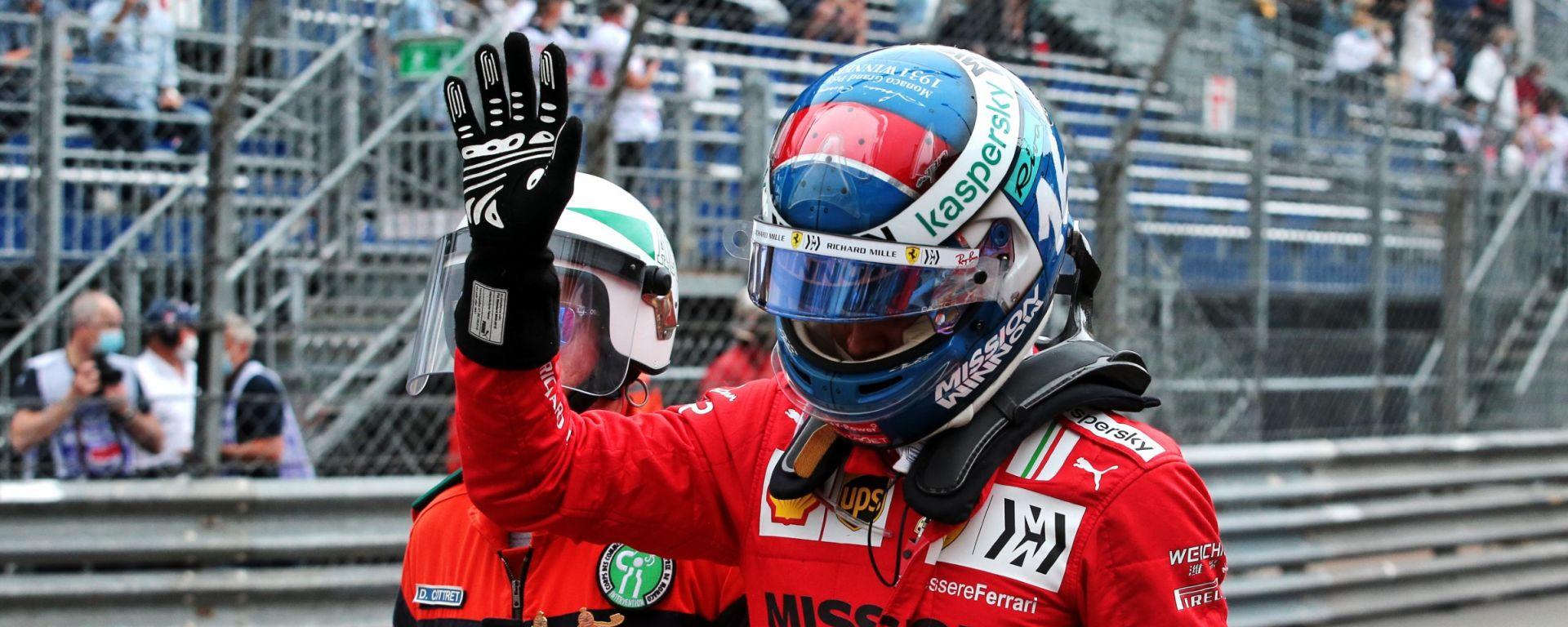 F1, GP Monaco 2021: Charles Leclerc (Ferrari)