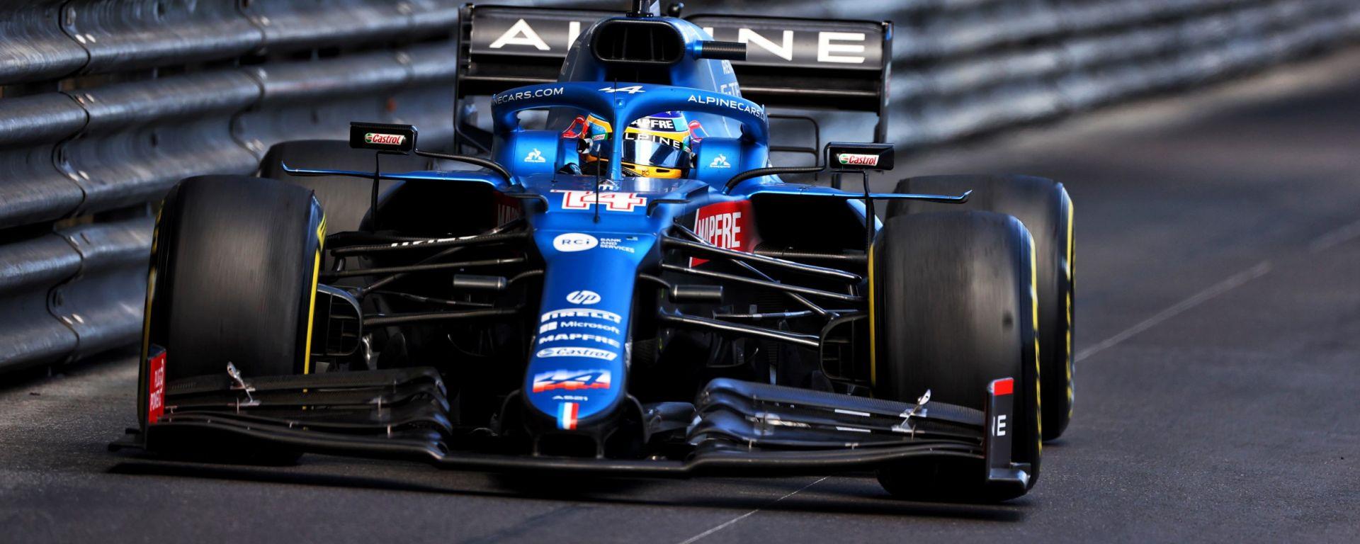 F1, GP Monaco 2021: Fernando Alonso (Alpine)