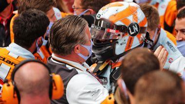 F1, GP Monaco 2021: le pacche di Zak a FerLando