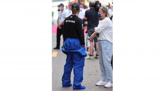 F1, GP Monaco 2021: Lewis metalmeccanico