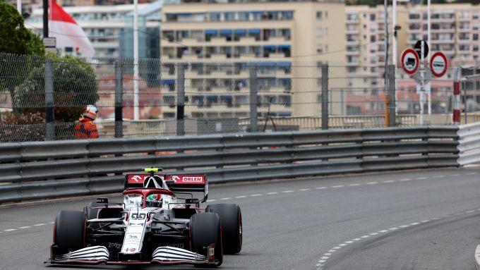 F1 GP Monaco 2021, Monte Carlo: Antonio Giovinazzi (Alfa Romeo Racing)