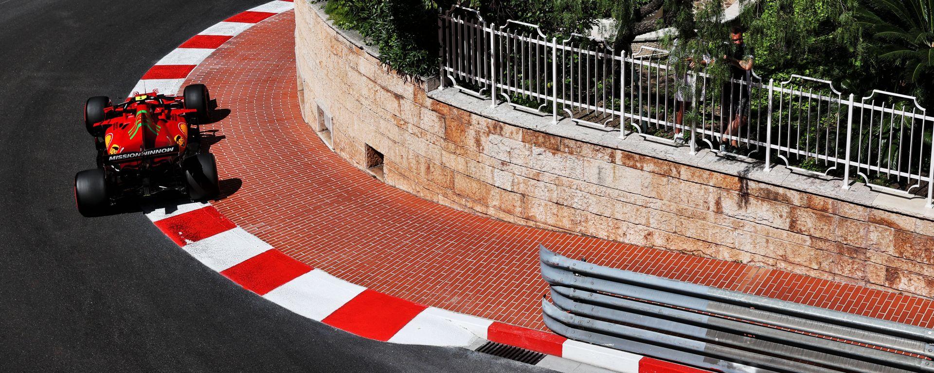 F1 GP Monaco 2021, Monte Carlo: Carlos Sainz (Scuderia Ferrari)
