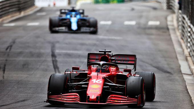 F1 GP Monaco 2021, Monte Carlo: Charles Leclerc (Scuderia Ferrari)
