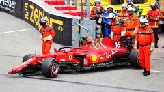 F1 GP Monaco 2021, Qualifiche: Leclerc sbatte ma è pole