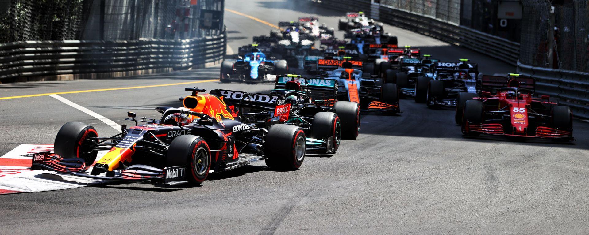 F1 GP Monaco 2021, Monte Carlo: la partenza della gara