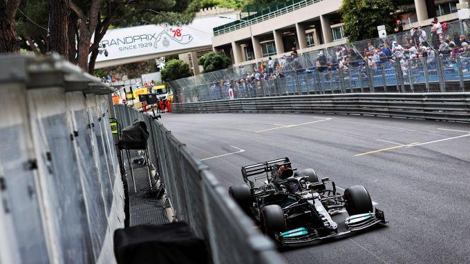 F1 GP Monaco 2021, Monte Carlo: Lewis Hamilton (Mercedes AMG F1)