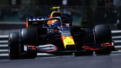 F1 GP Monaco 2021, PL1: Perez 1° a sorpresa, Leclerc KO