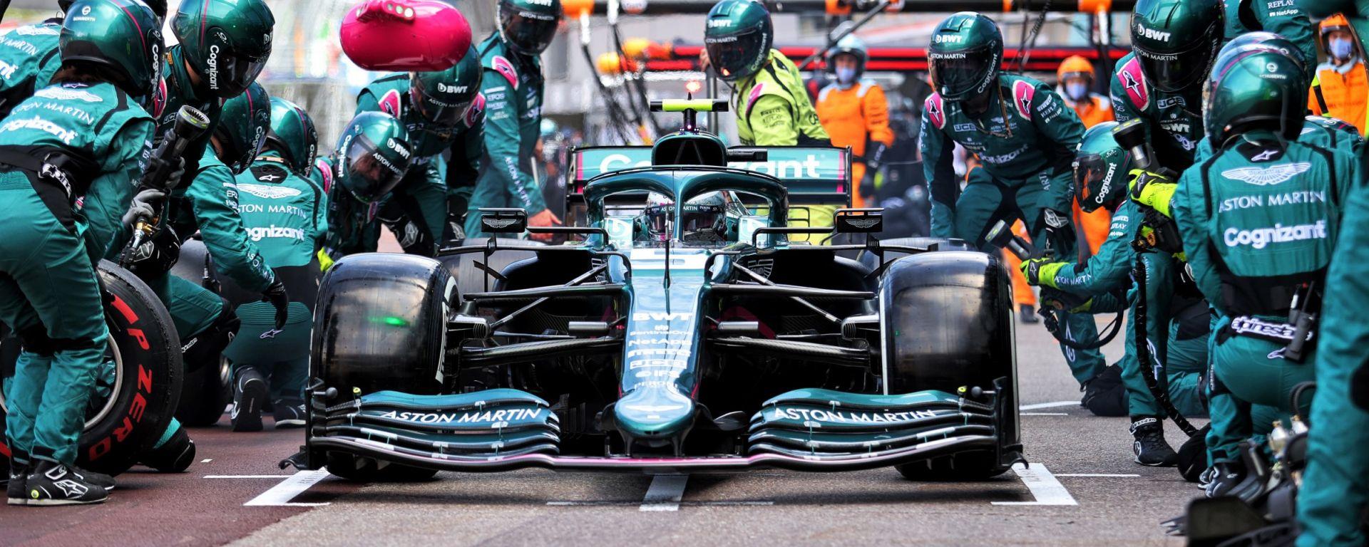 F1, GP Monaco 2021: Sebastian Vettel (Aston Martin)