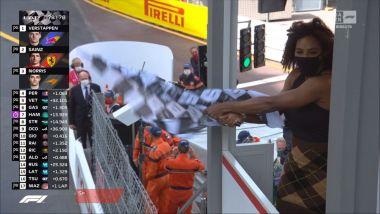 F1, GP Monaco 2021: una Serena bandiera a scacchi