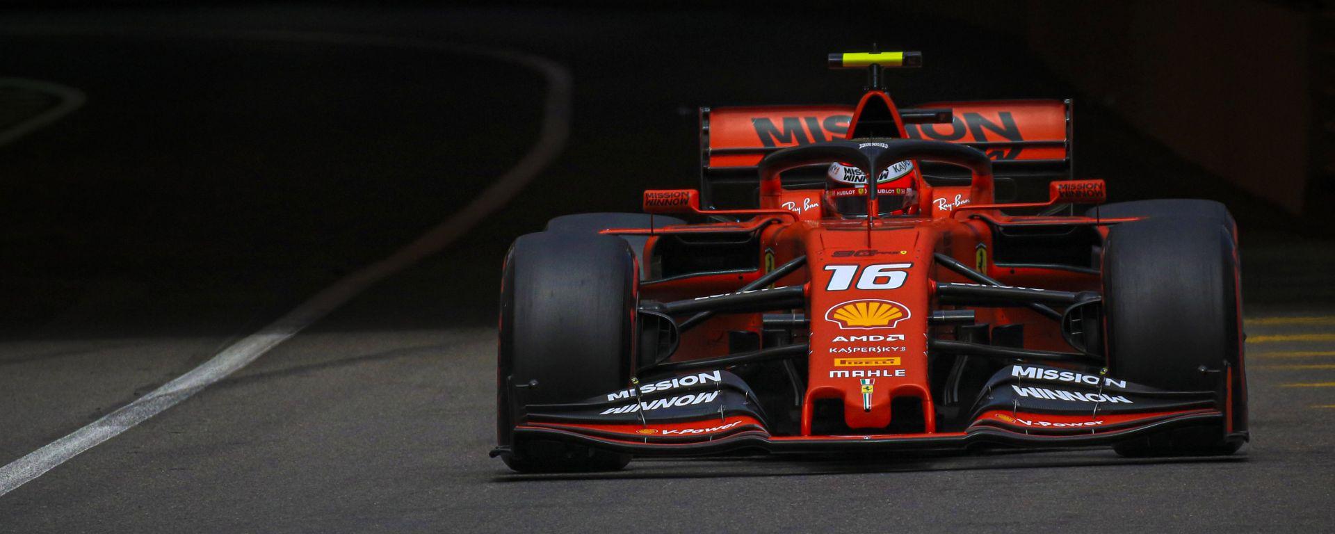 F1 Gp Monaco 2019 – PL3. Squillo di Leclerc, Vettel a muro