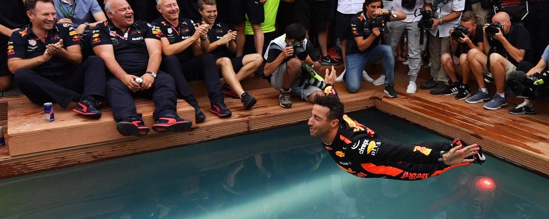 F1 GP Monaco: Ricciardo sorprende, Vettel rosicchia e Raikkonen...si annoia