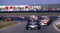 F1 GP Olanda 1984, Zandvoort: la partenza della gara