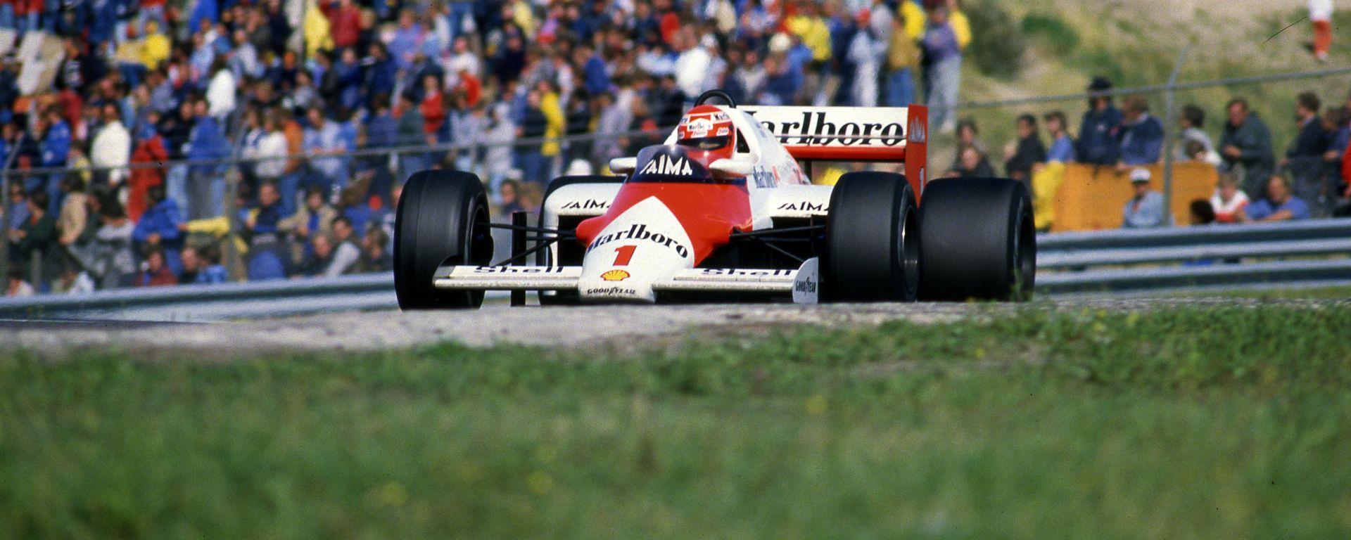 F1 GP Olanda 1985, Zandvoort: Niki Lauda (McLaren)