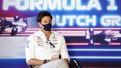 La replica ironica di Wolff ai dubbi Red Bull sul motore Mercedes