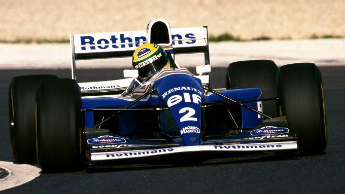 F1 GP Pacifico 1994, Aida: Ayrton Senna (Williams FW16)