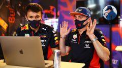 F1, GP Portogallo 2020: Albon scopre la chat sexy tra sua cugina e MV