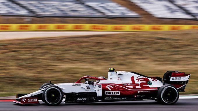 F1 GP Portogallo 2020, Portimao: Callum Ilott (Alfa Romeo Racing)