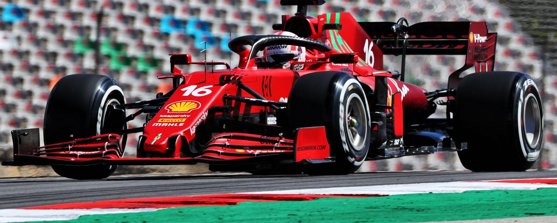 F1 GP Portogallo 2020, Portimao: Charles Leclerc (Scuderia Ferrari)