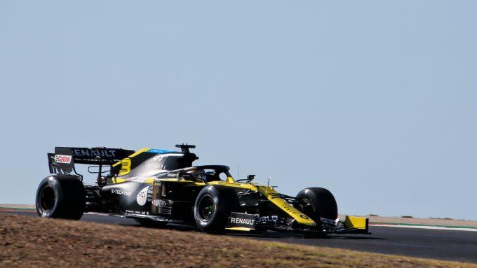 F1 GP Portogallo 2020, Portimao: Daniel Ricciardo (Renault)