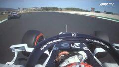 F1 GP Portogallo 2020, Portimao: Gasly (AlphaTauri) e Perez (Racing Point)